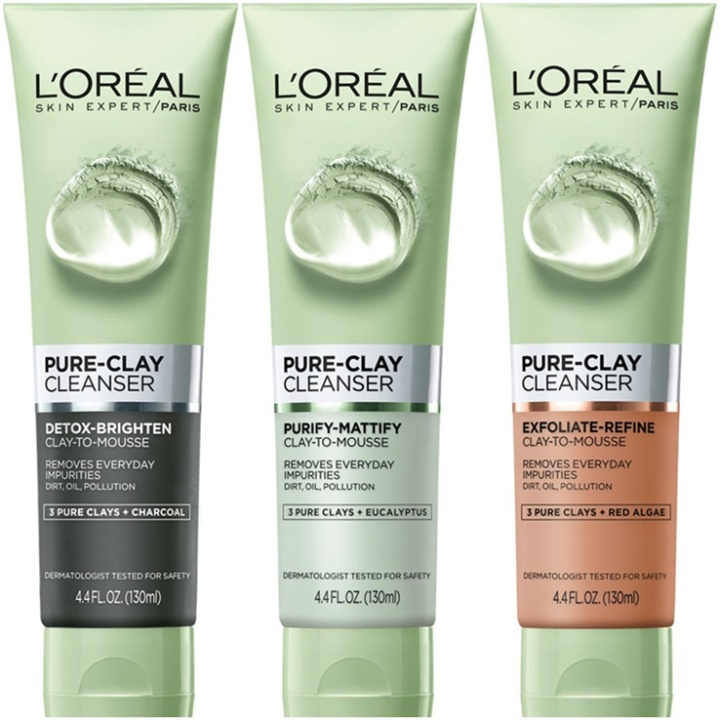 L'Oreal Pure-Clay Cleanser: ProductReview