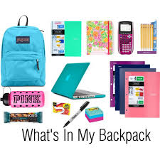 Back To School Series#4: Backpack Essentials ForCollege