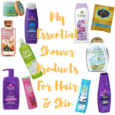 My Shower Essentials (For Dry Skin and Hair)