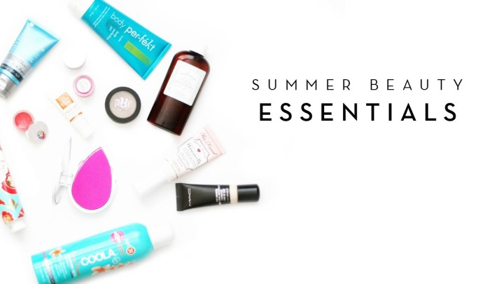 Spring And Summer Beauty Essentials