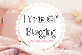 One Year Of Blogging!!!