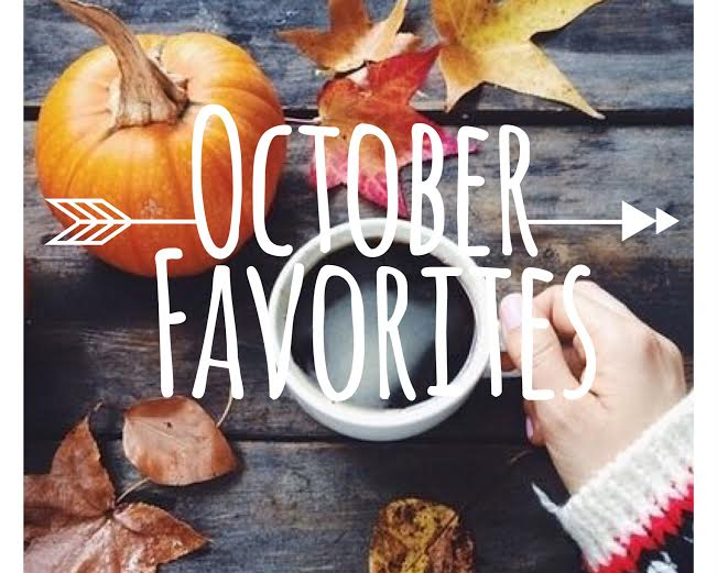 October Favorites 2018