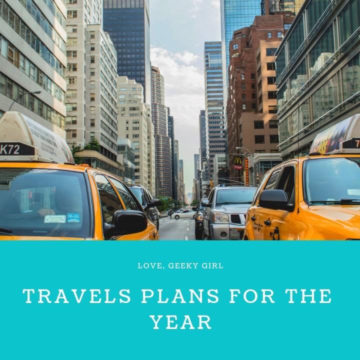 Travel Plans For2019